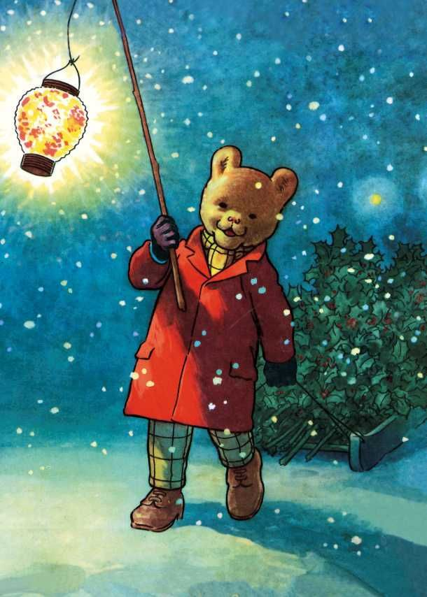 I loved Rupert when I was little :) this brings back happy memories