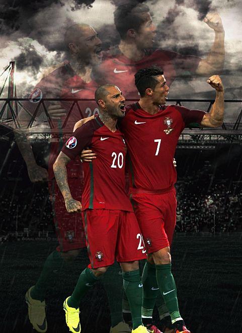 Ricardo Quaresma & Cristiano Ronaldo & portugal