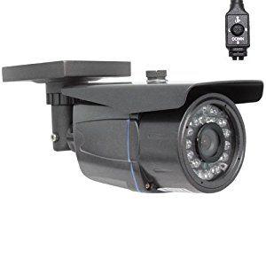 GW Security Professional 1/3-Inch Sony Effio CCD 700TVL Outdoor Security Camera - 700 TV Lines, 3.6mm Wide Angle Lens - http://electmecameras.com/camera-photo-video/security-surveillance/bullet-cameras/gw-security-professional-13inch-sony-effio-ccd-700tvl-outdoor-security-camera-700-tv-lines-36mm-wide-angle-lens-com/