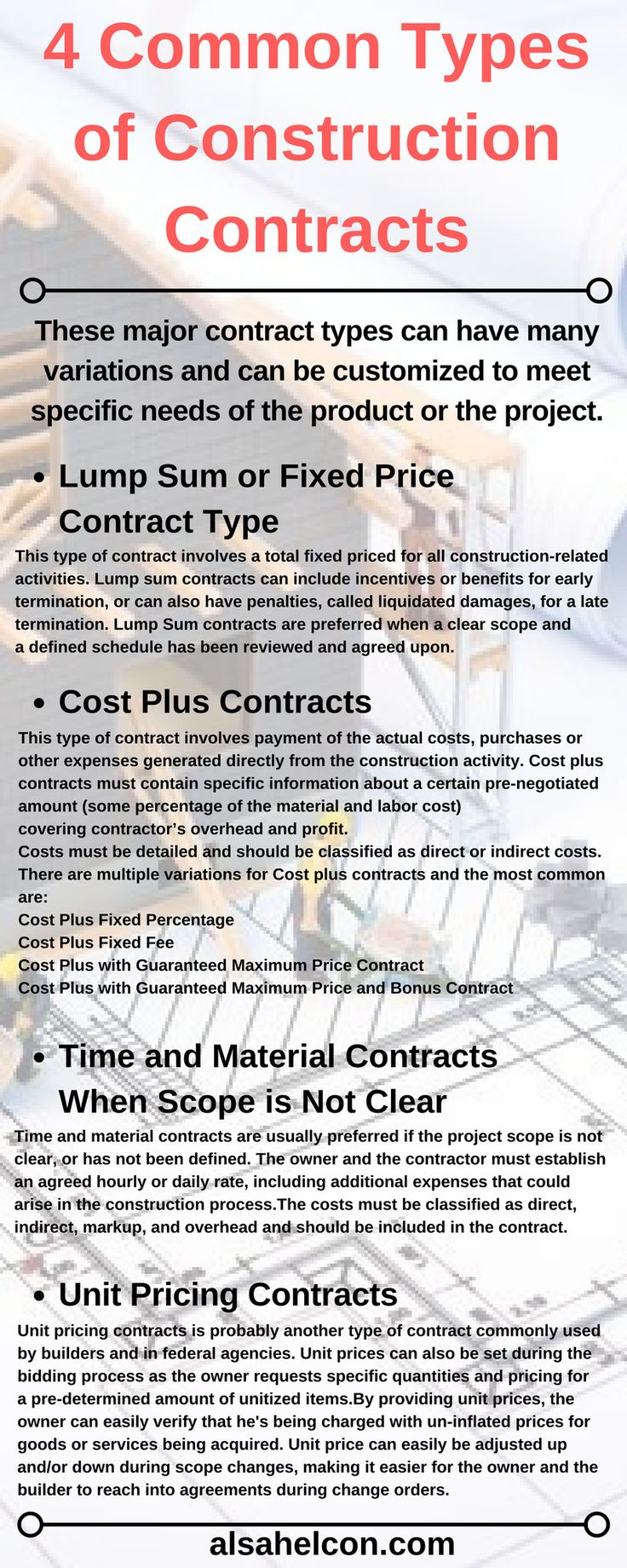 how to find residential contruction contracts