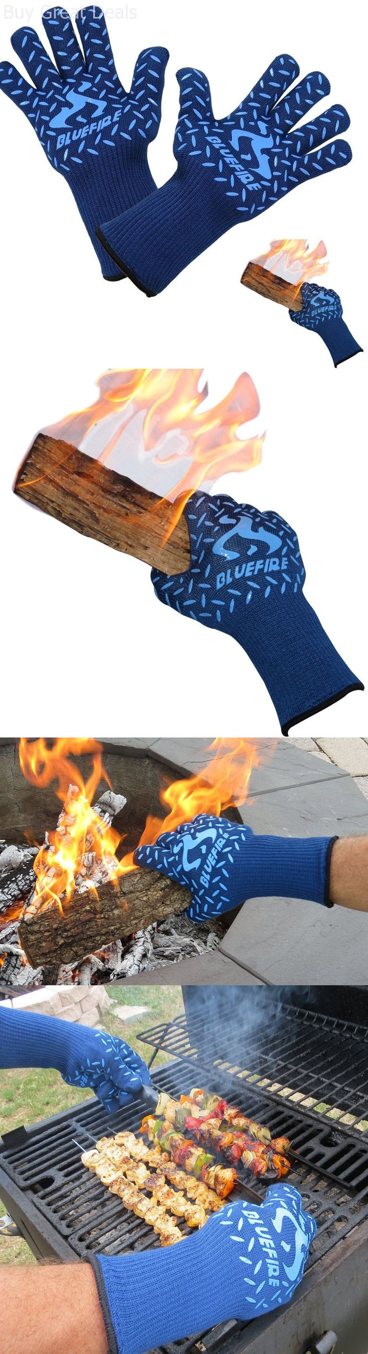 Oven Mitts and Potholders 20661: Heat Resistant Gloves Oven Bbq Grilling Professional Kitchen Cooking Accessories -> BUY IT NOW ONLY: $41.33 on eBay!