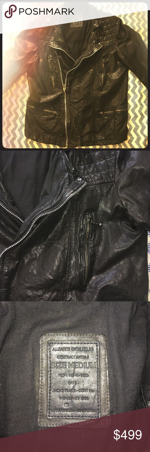 All Saints Original Biker Jacket 1st Edition This is the first edition release of the All Saints Biker jacket. Taken great care of. And was truly the best leather jacket I've owned. All Saints Jackets & Coats Performance Jackets