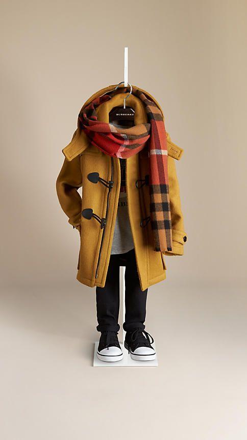 Duffle Coat de lã   Burberry