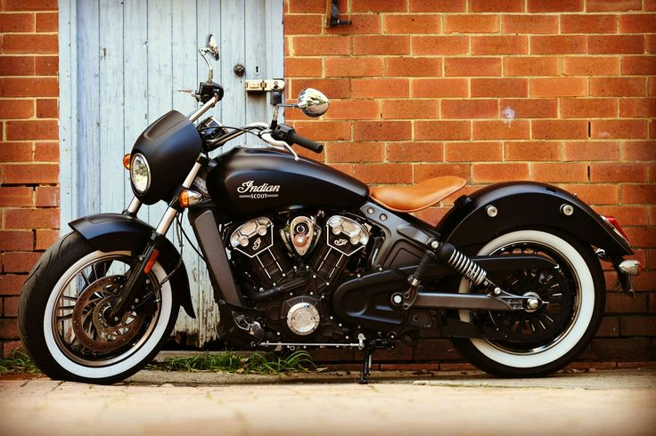 Motorcycle Indian Scout