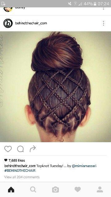 Under braids