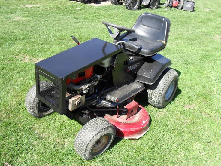 Custom Lawn Tractor Hood : Ideas about murray lawn mower on pinterest riding