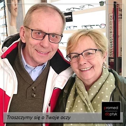 Pani Halina i Pan Marek - pozytywna energia i uśmiech - dziękujemy i pozdrawiamy. #optyk #optometrysta #okulista #okulary #wzrok #oczy #uśmiech #okularyprogresywne