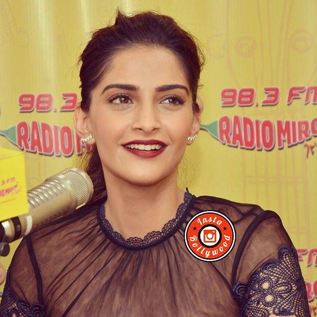 Sonam Kapoor in Mrs Self Portrait dress for promotions of her upcoming Movie @Bollywood  . . bollywoodstylefile #bollywood #bollywoodactress #bollywoodfashion #bollywoodmovie #SonamKapoor #sonamkapoor #ibneerja #neerjamovie #neerjabhanot #neerja #indianfashion