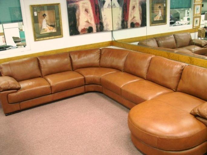 Natuzzi leather sectional sofa decorating idea for Canape natuzzi