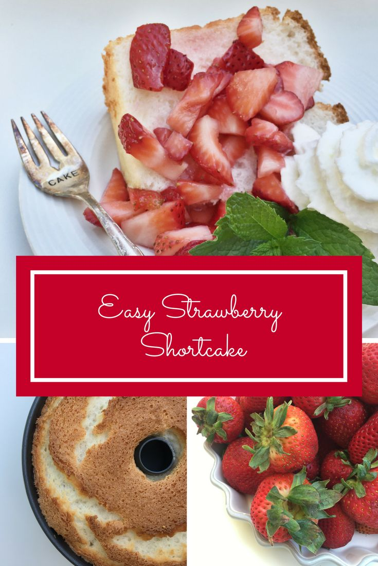 Strawberry shortcake has never been easier.