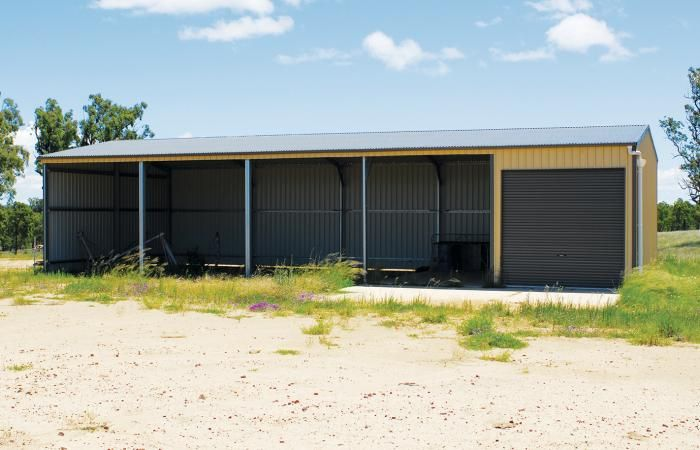 Lock It Up Rural Shed | Premium Australian BlueScope Steel, flexible components and robust design.