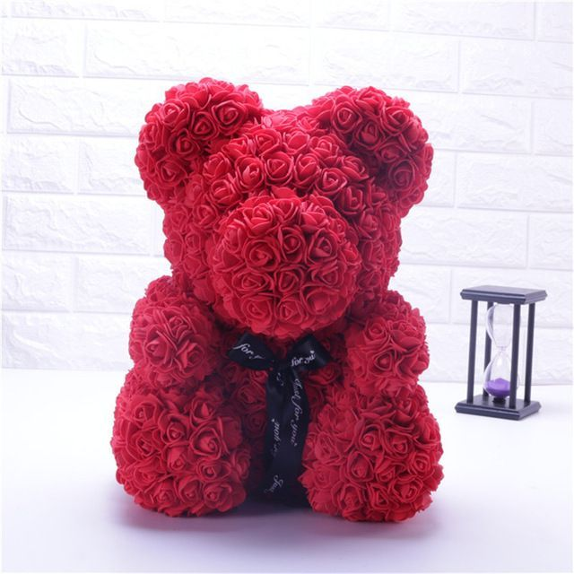 Forever Rose Teddy Bear Valentine S Day Gift Idea Perfect Valentine S Day Gift Valentine S Day Beat The Effec In 2020 Valentine Gifts Bear Valentines Teddy Bear Gifts
