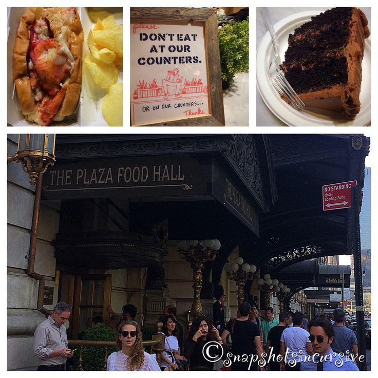 Plaza Hotel Food Hall in Manhattan, New York City, New York