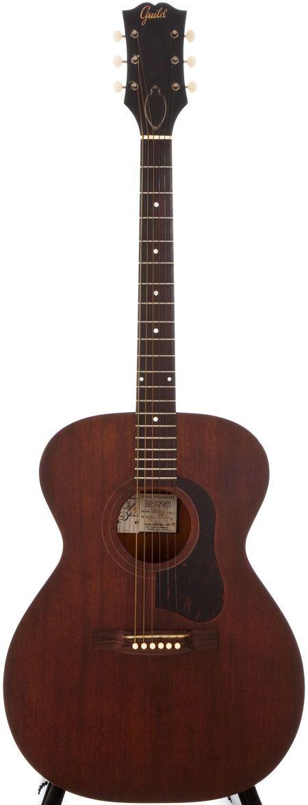 1959 Guild M-30 Natural Acoustic Guitar