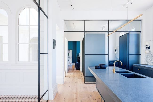 Hecker Guthrie's Prahran Residence in Vogue Living | Mafi Floorboards in Oak Country Brushed White Oil