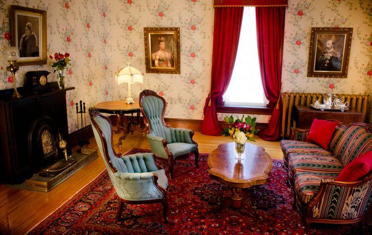 Parlour Room, Queen Anne Inn - Annapolis Royal.