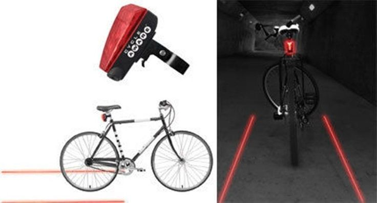 LED & Laser tail light - Be Safe, Be Seen