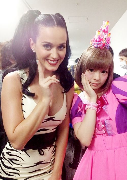Katy Perry pays tribute to her hero Kyary Pamyu Pamyu