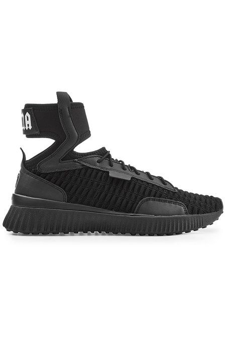 Leather High Top Sneakers  783b73562418b
