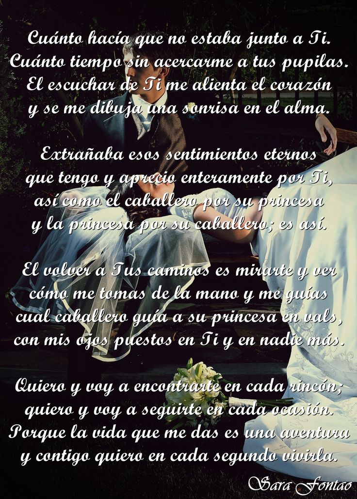 """""""Yo soy de mi amado y mi amado es mío..."""" (Cantares 6:3)  Tema Musical: """"Porque te amo"""", de Luis Santiago"""