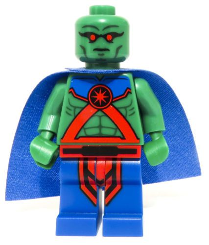 Lego Dc Super Heroes Martian Manhunter Minifigure Poly Bag