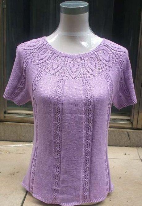 Varios estilos de modelos en crochet y dos agujas con molderìa y paso a paso