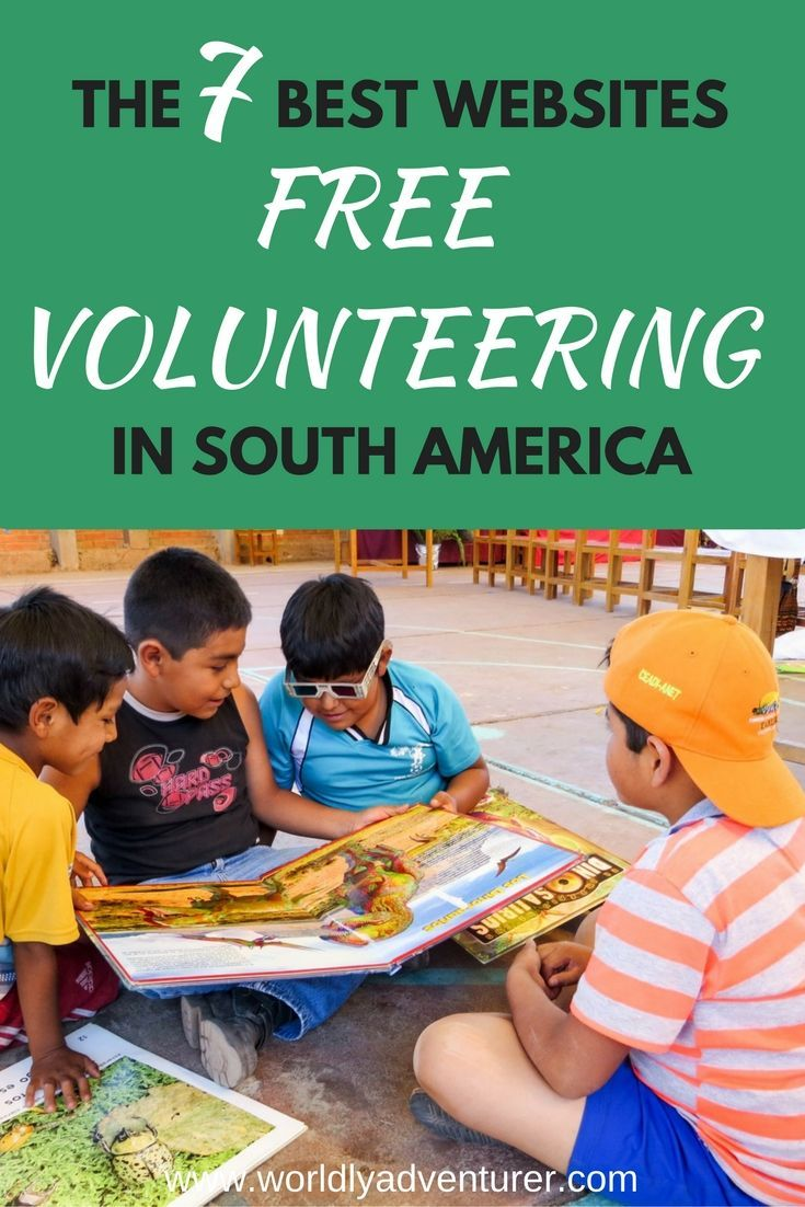 Finding volunteering programs in South America where you're not required to pay a hefty fee is not impossible so that you don't have to pay to volunteer in South America.   I've trawled the internet to find the seven best websites for free volunteering programs in South America.