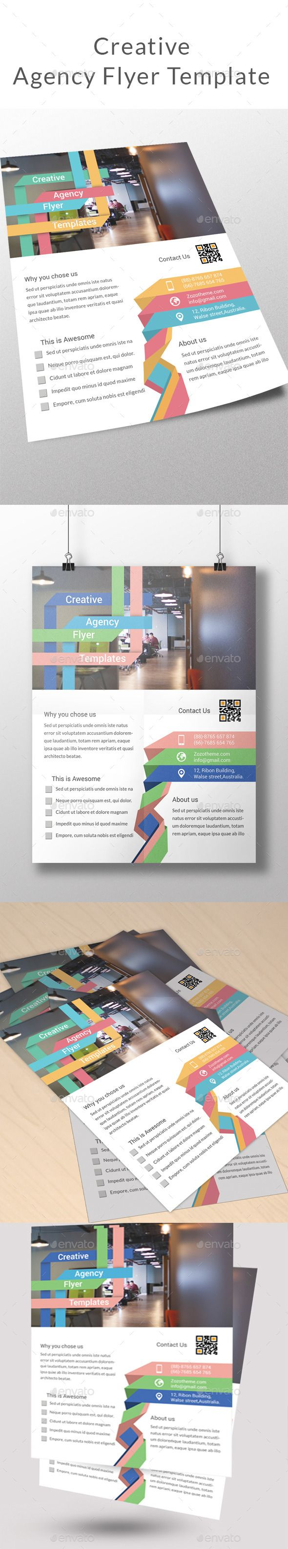 Creative Agency Flyer Template - Corporate Flyers
