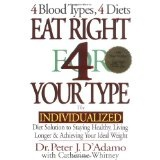 Eat Right 4 Your Type: The Individualized Diet Solution to Staying Healthy, Living Longer & Achieving Your Ideal Weight (Hardcover)By Peter J. D'Adamo