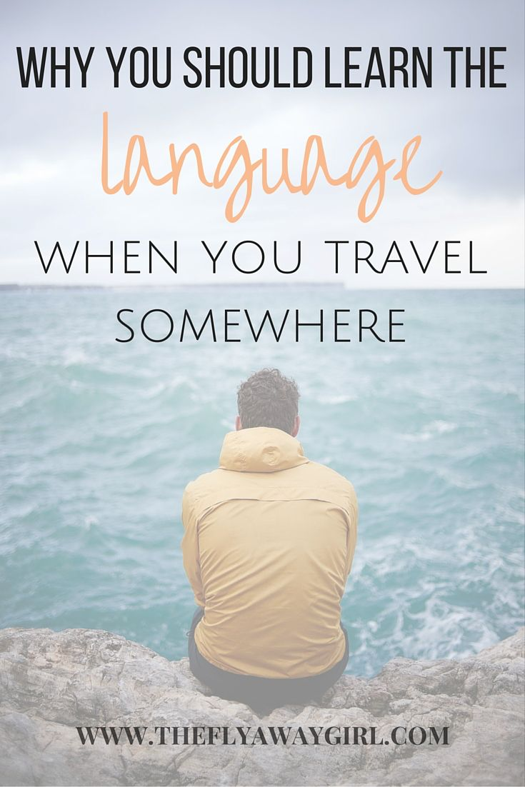 Why you should always learn a bit of the #language when you #travel somewhere! #adventure