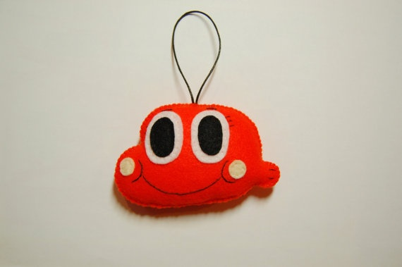 The Amazing World of Gumball Darwin plush head strap by Mielamiela, $11.00