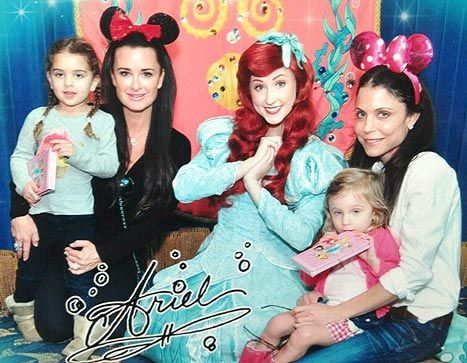 Bethenny Frankel, Kyle Richards Have Fun Mother-Daughter Day at ...