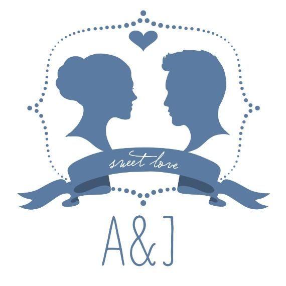 Silhouette Free Printable Wedding Monogram