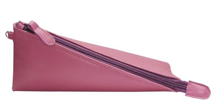 Trinity - pink leather - Biskup Handbags
