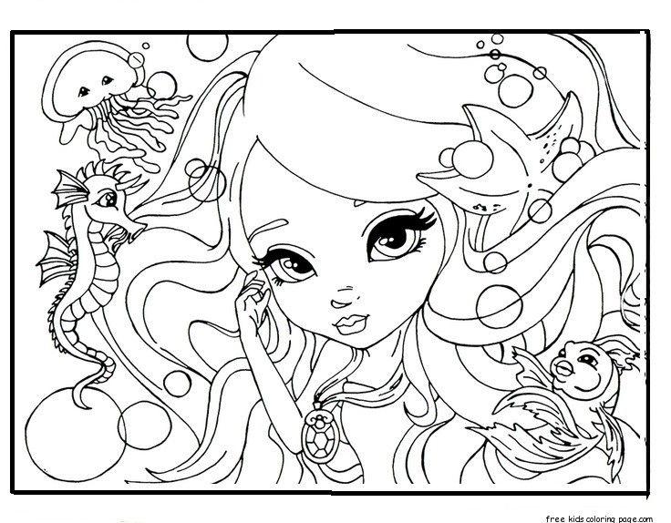 290 best Color: Fantasy images on Pinterest | Coloring books ...