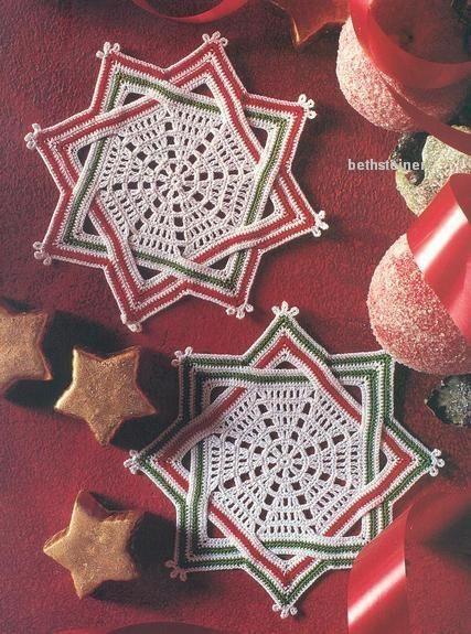 Croche maravilha de arte: Squares natalinos