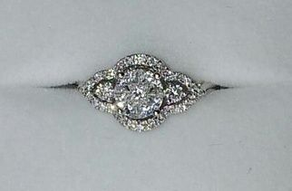 My gatsby / art deco vintage engagement ring. Actually, made me gasp a little.