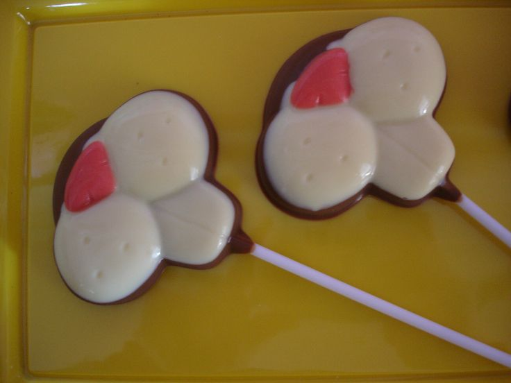 Chocolate Bunny Mouth Pops