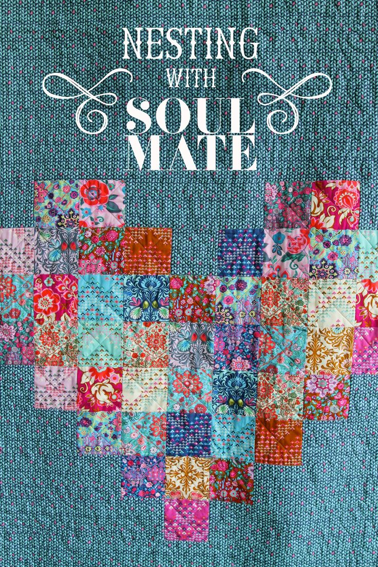 Amy Butler's True Love Quilt designed by Stacey Day