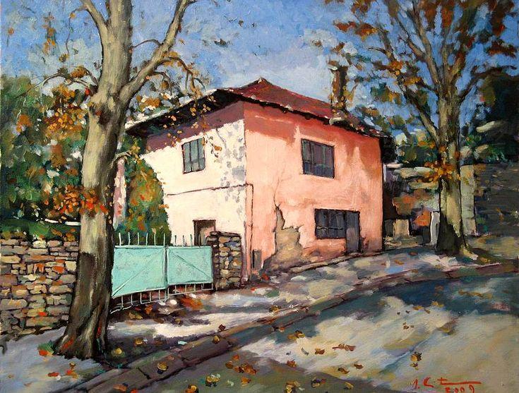 levkonoe   David Croitor. Old street in Balchik