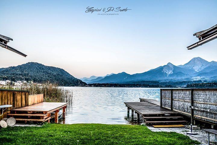 Lake in Villach - Austria