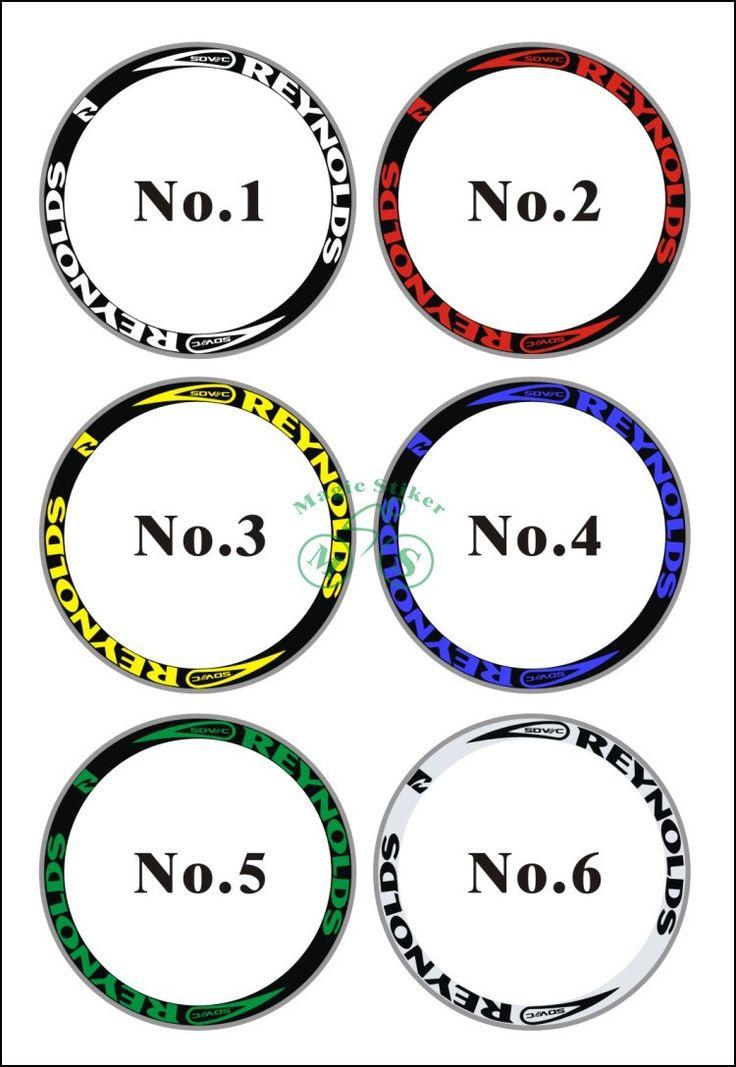Reynolds Wheel Stickers
