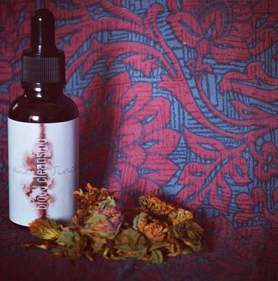 Check out this item in my Etsy shop https://www.etsy.com/ca/listing/583928812/blood-cleansing-tincture