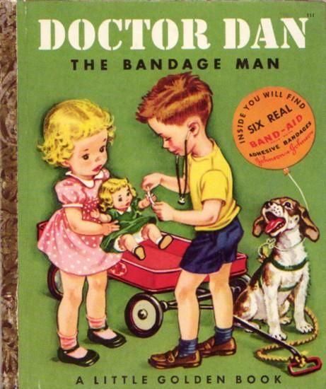 Little Golden Book - I remember reading this at my Grandma and Grandpa's house when I was little, it belonged to my dad and aunties
