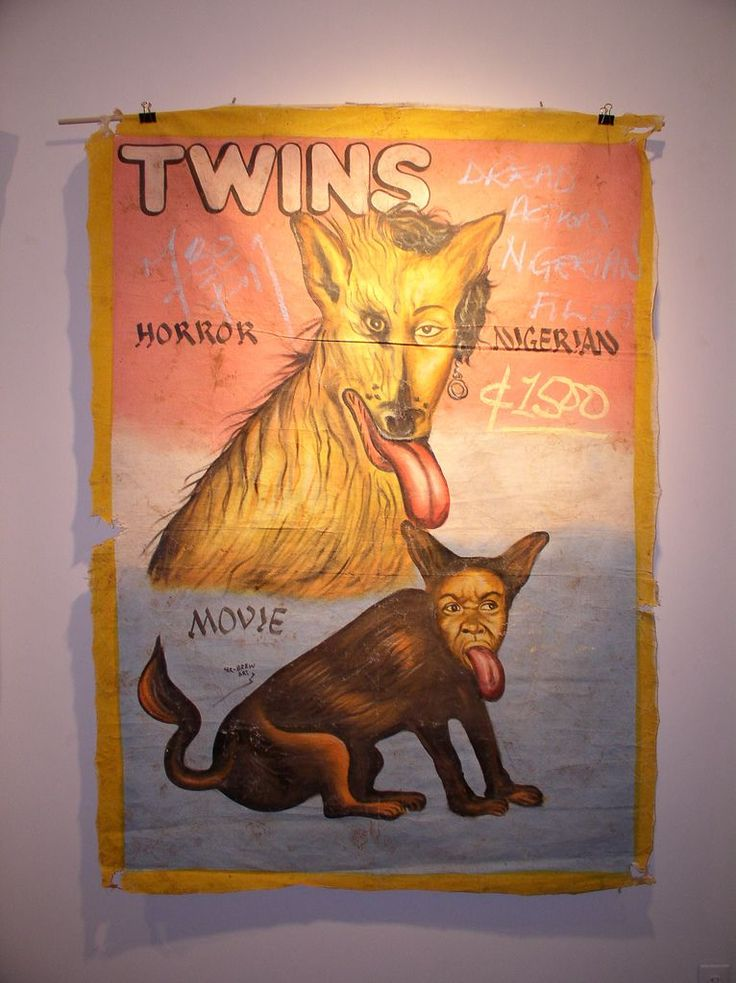 Posters to the Nigerian horror films (37 photos) - TWINS starring Arnold Schwarzenegger and Danny DeVito