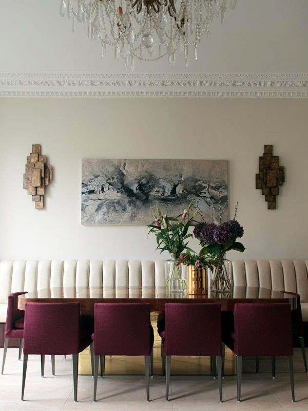 TOP TIP: Use Marsala for an intense single feature wall.: