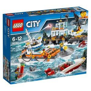 LEGO City 60167 Kystvagtens hovedkvarter
