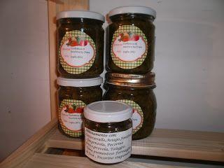 LE  RICETTE DI CHARA: Confettura di zucchine verdi alla menta