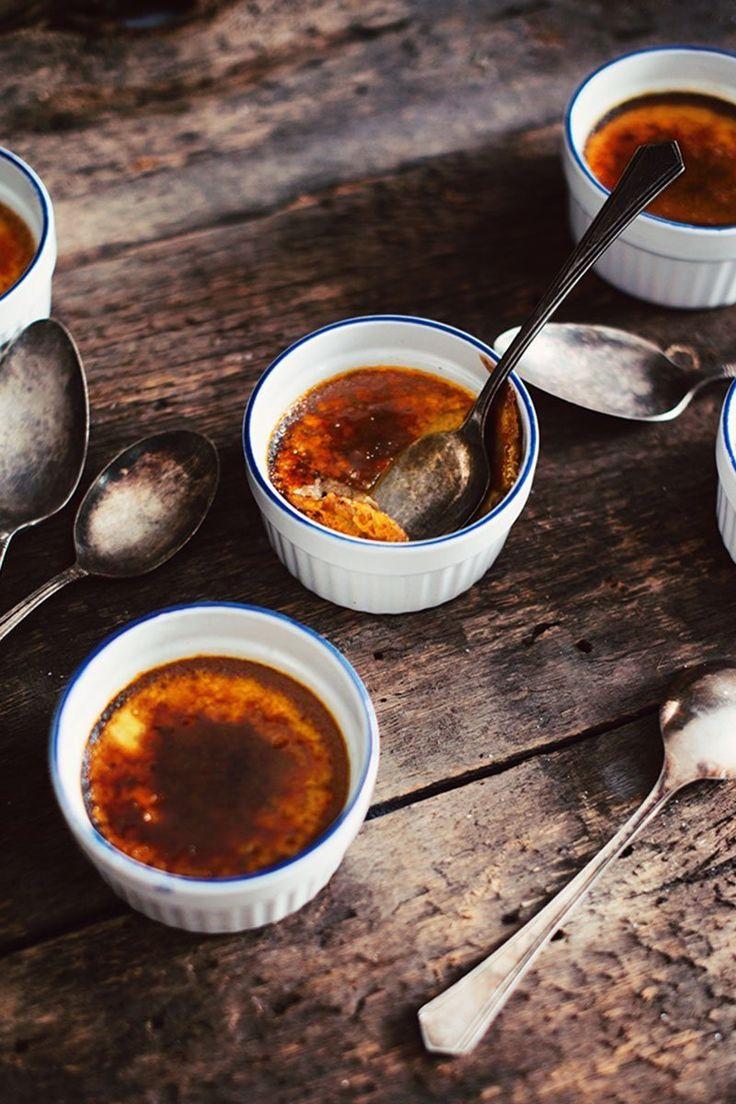 Crème brûlée au lait Natrel au chocolat noir