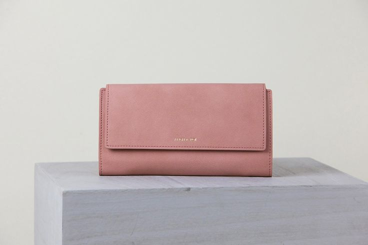 Angela Roi Olivia E Wallet - Dusty Rose